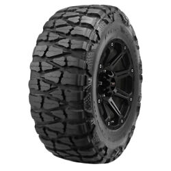 4-33x12.50r20lt Nitto Mud Grappler 114q E/10 Ply Bsw Tires