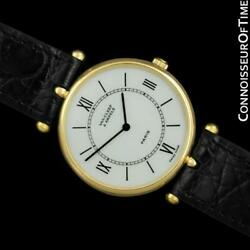 And Vca Piaget La Collection Mens Unisex 18k Gold Watch - Mint