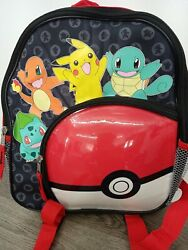 POKEMON BACKPACK 12quot; Pokeball 3D BOOK BAG Back Pack Carry Case Free Shipping $15.96