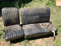 1960-1966 Chevrolet Suburban Front Seat Local Pick Up