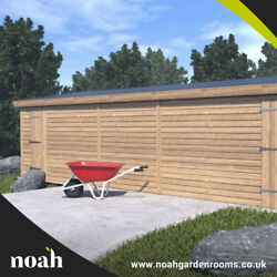 18x8 And039whitefield Shedand039 Heavy Duty Tanalised Wooden Garden Shed/workshop/garage