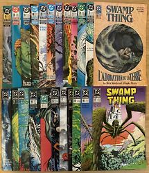Swamp Thing 65-87 Complete Veitch Run Fine-very Fine Condition 23 Issue Lot