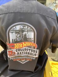 2017 Pittsburgh Pa 17th Nationals Hot Wheels Staff Convention Shirt Size Xxl