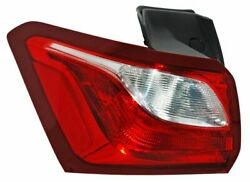 Tail Light Lamp Lh Driver Side Chevrolet Equinox 2018 2019 2020