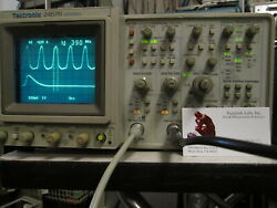 Tektronix 2467b 400mhz Refurbished With Probes Front Cover Manual. New Cal Ic