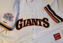 Will Clark 1989 World Series San Francisco Giants Authentic Rawlings Jersey Sz52