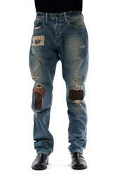 Polo Jeans Bobby Jean Patchwork Repair Processing Crash Damage