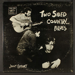 Joint Effort Two Sided Country . . . Blues Home Made 12 Lp 33 Rpm