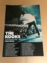 The Kooks Poster Tour 2017/18 Official Concert The Best Of ...so Far 42 X 59cm