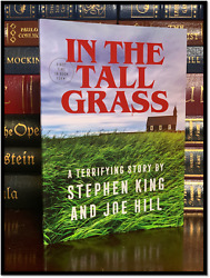 In The Tall Grass ✎signed✎ By Stephen King And Son Joe Hill New 1st Novella 1/300