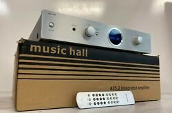 Music Hall A25.2 Silver Integrated Amplifier. Excellent Condition
