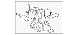 Genuine Toyota Fuel Pump And Sender Assembly 77020-02890