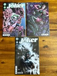 Joker 2 Covers A B And 2nd Print 1st Appearance Of Vengeance Bane's Daughter
