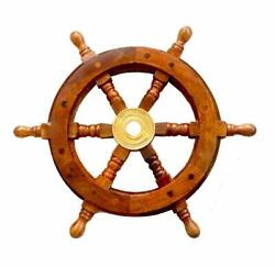 Antique Gift 12 Nautical Collectible Boat Steering Ships Wheel Pirate Captain