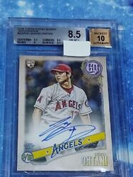 Shohei Ohtani Topps 2018 Gypsy Queen Bgs 8.5