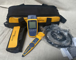 Fluke Networks Ms2-kit Cable Tester Kit, Copper Cable Wire Mapping, Lcd