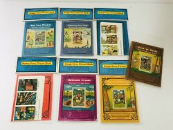 Picture Stamp Story Book Lot, Antique Replica Rare New W/ Collectors Stamps