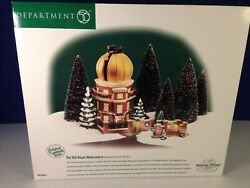 Dept 56 Dickens Village The Old Royal Observatory Gold Dome 56.58451 Brand New