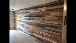 Real Reclaimed Barnwood Wall Covering/planks /cladding 50 Sq.ft. Free Shipping