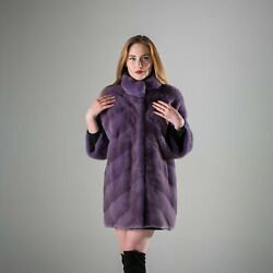 Womenand039s Short Coat Lilac Hooded Removable Winter Casual Stand-up Collar