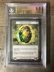Heart Of Fyendal Bgs 9.5 Rainbow Foil Flesh And Blood Welcome To Rathe Unlimited
