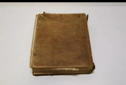 1846 Leather Bound Bible