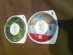 Broken As Is Psp Game Lot Little Big Planet Scooby Doo Whos Watching Who