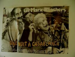 Marx Brothers A Night In Casablanca French Poster 1946rr 31 By 47 Groucho
