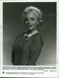1991 Press Photo Susan Griffiths Stars As Marilyn Monroe In Marilyn And Me