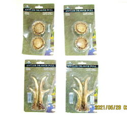 New Lot Of Antler Drawer Cabinet Pulls Poly Resin