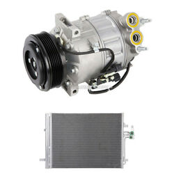 For Volvo S80 2007 2008 2009 2010 Oem Ac Compressor W/ A/c Condenser And Drier