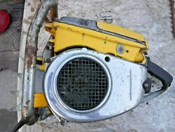 Mcculloch Super 797 123cc Chainsaw Powerhead For Parts Good Piston And Cyl, Decomp