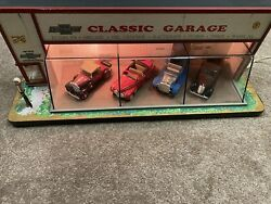 Vtg 1991 Vees Collectibles Classic Garage Lighted Display Case 1/43 Don Booty