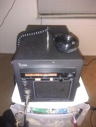 Icom Ps 80 Base Station With Ic-a200 Com Radio Excellent Condition