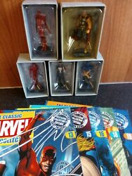 Eaglemoss Classic Marvel Figurines Collection 13, 15, 16, 18, 19 Thor, Daredevil