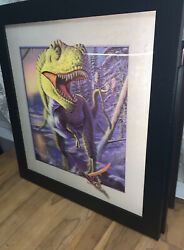 Tyrannosaurus Rex 3d Lenticular Moving Picture. T-rexandrsquos Head Comes Of Picture