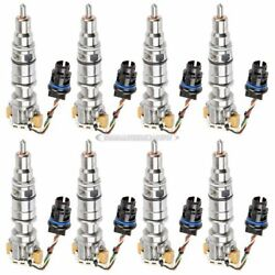 For Ford Excursion F250 6.0l Powerstroke Complete Diesel Fuel Injector Set Tcp