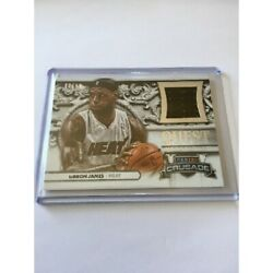 Express Delivery Lebron James Nba Panini Crusade Quest Heat /99 Jersey