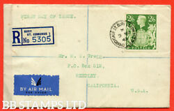 Sg. 476b. Q30. 2/6 Green. A Very Fine First Day Cover Cancelled By A 9t B53388