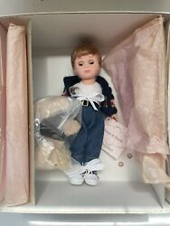 """Madame Alexander """"snips And Snails"""" Boy And Dog 31330 8"""" Doll Nrfb 2001"""