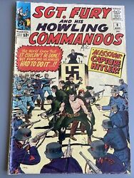 Sgt. Fury And His Howling Commandos 9 1964 - Marvel -fn - Comic Book