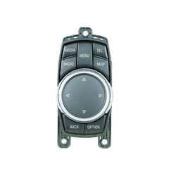 A+7 Button Multi-media Audio Gps I-drive Control Switch 65829350724 For Bmw