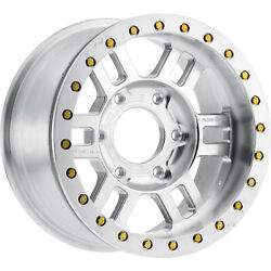 4-17x9.5 Machined Wheel Vision Manx Competition Forged 398 6x6.5 -18