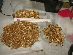 10 Lbs 6.1 Ozs Connector Ends And Other Parts For Gold Recovery