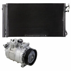 For Bmw X1 3.0l 2013 2014 2015 Oem Ac Compressor W/ A/c Condenser And Drier Tcp