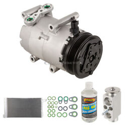 For Ford Focus 2013 A/c Kit W/ Ac Compressor Condenser And Drier Tcp
