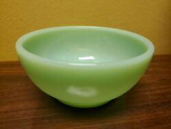 Vintage Jadeite Fire-king Oven Ware Small Bowl 5 Pre-owned