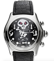 New Old Stock Corum Bubble Jolly Roger Mid-size Quartz Chronograph Limited