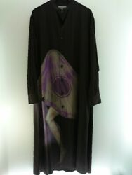 Secondhand Yohji Yamamoto Pour Homme 20ss Ghost Foot Print Tuxedo Long Sleeve