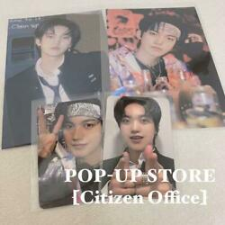 Onf J-us Official 2 Photocards And 2 Photos Set Pop Up Store Citizen Office